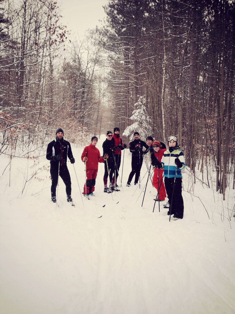 Cross Country Skiing with the BikeNXS gang!